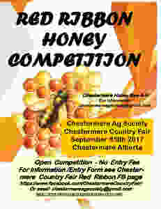 Red Ribbon Honey Competition