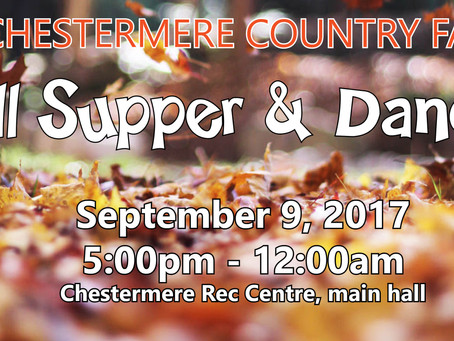 Country Fair Fall Supper & Dance