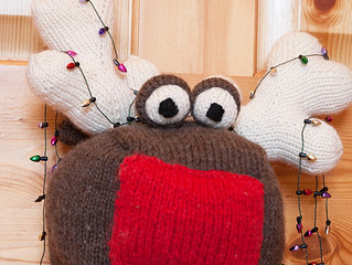 Rudolf the Red Nosed Doorstop