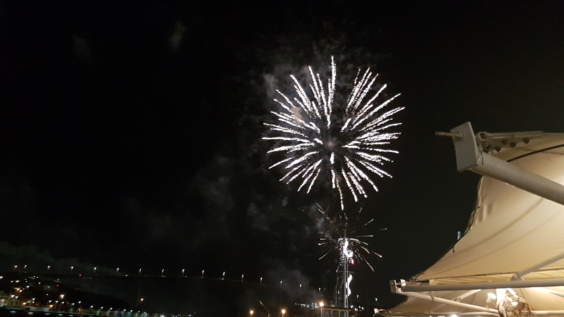Vuurwerk in Willemstad