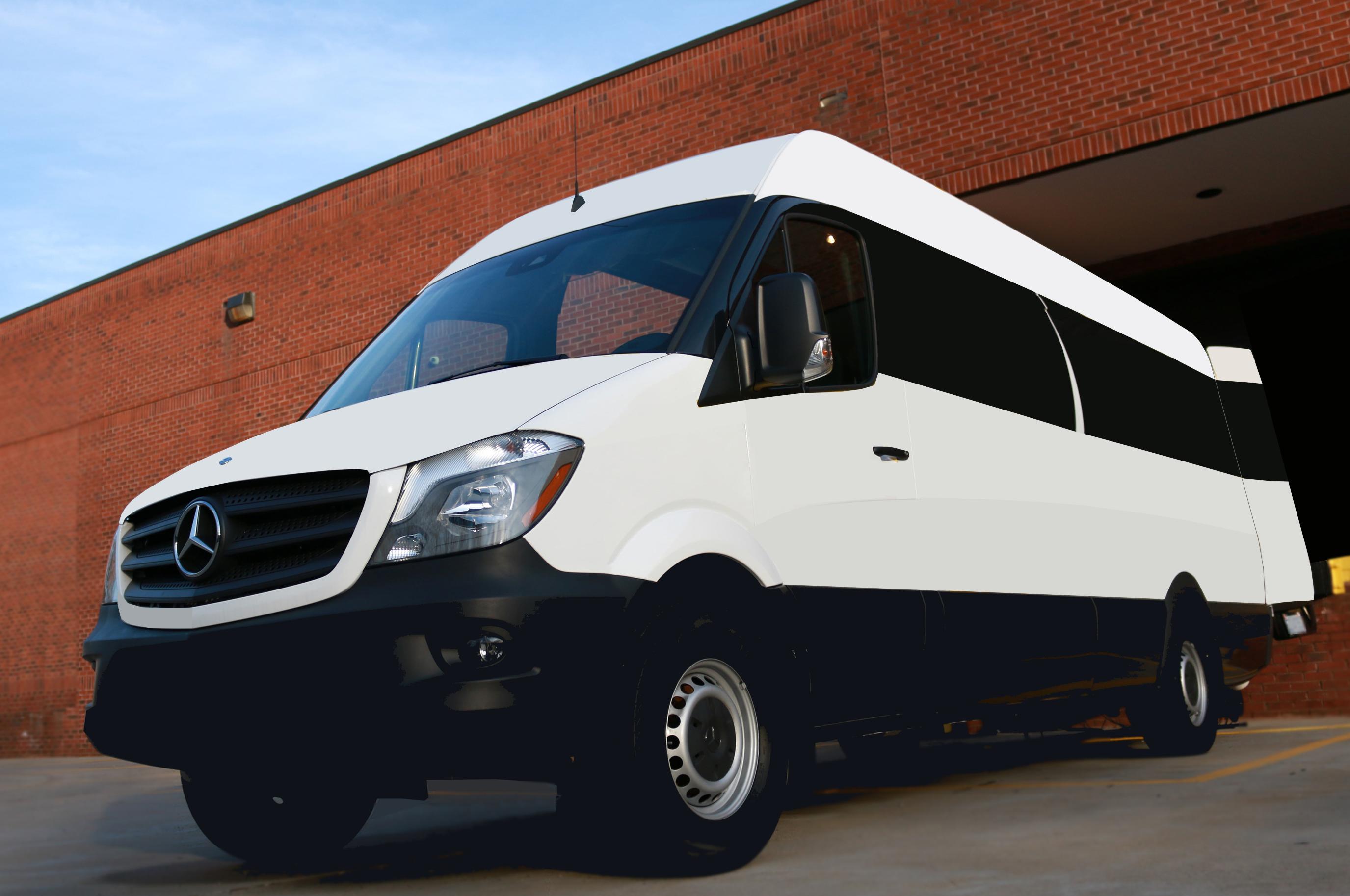 25' HD TriCaster Sprinter Van