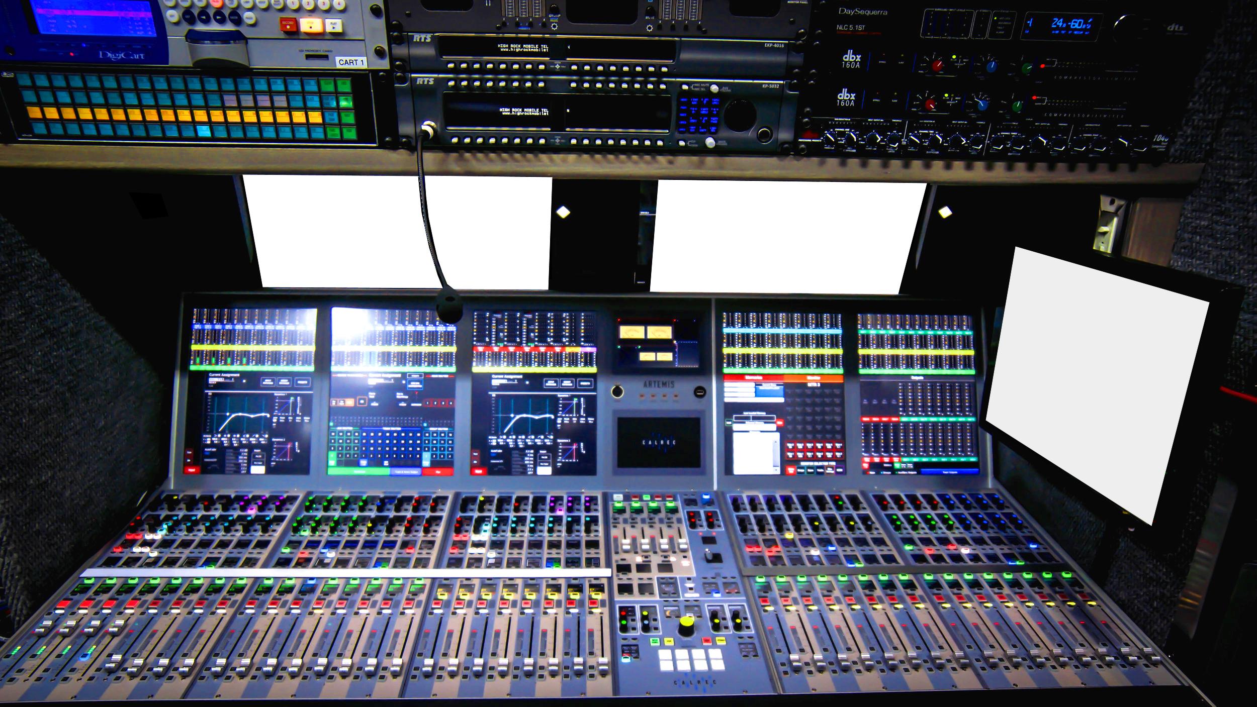Calrec Artemis Light Audio Console