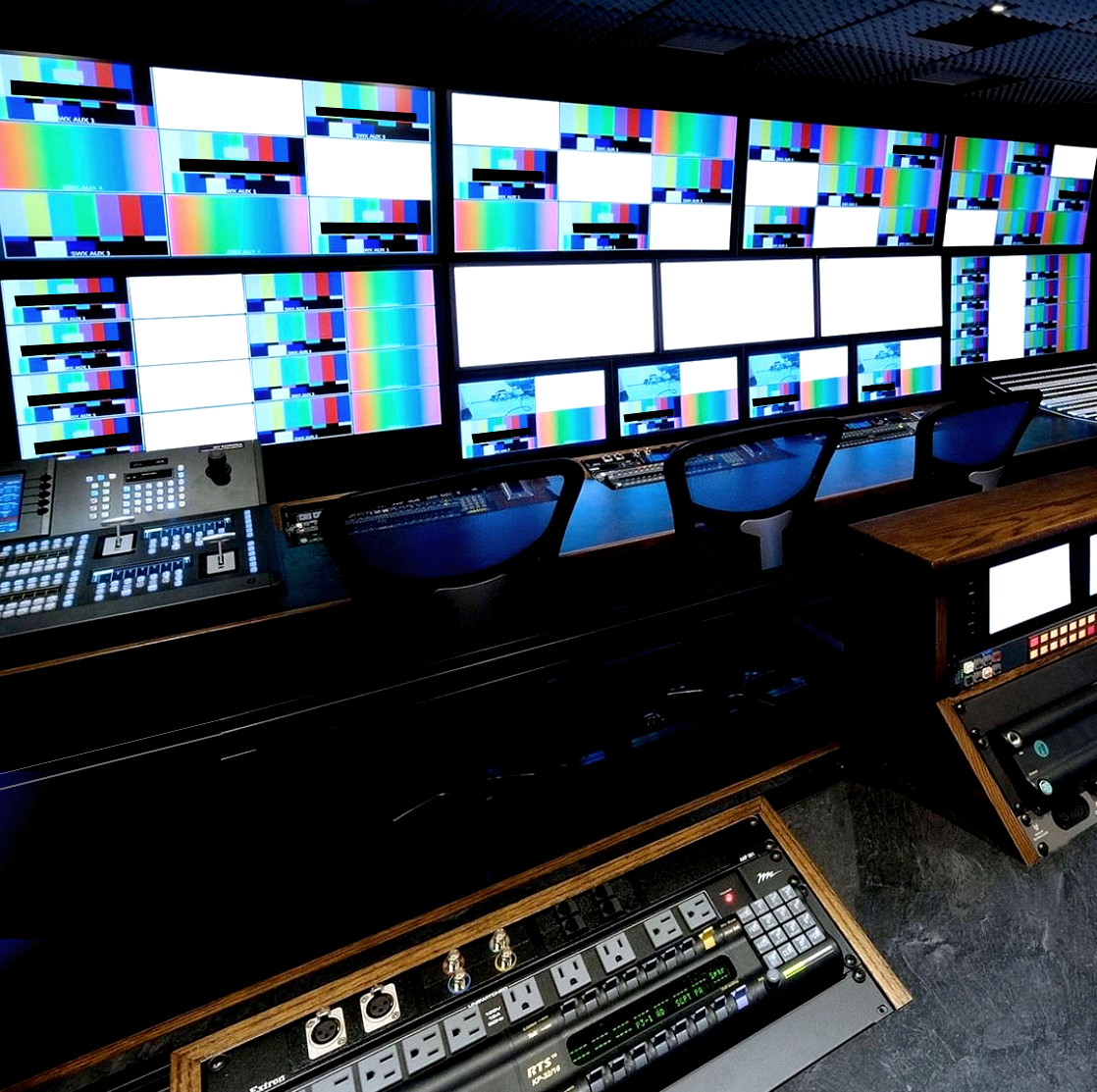 53' 4K-UHD Production Control Room