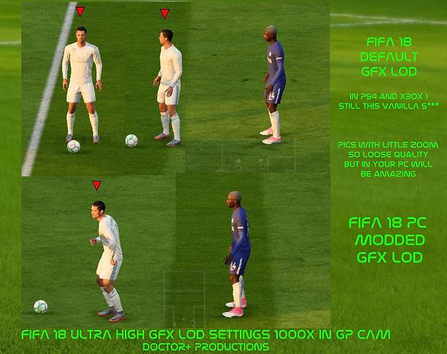 Fifa 18 virtual pro modding fifa 2018 hd.sis