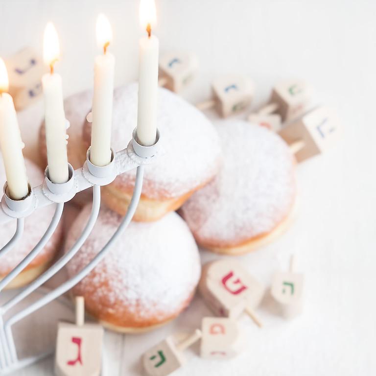 EBMC Dreidels & Donuts Channukah Party