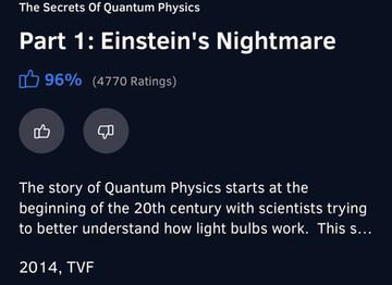 Of Love and Quantum Physics
