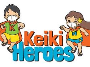 Keiki Heroes art adventure