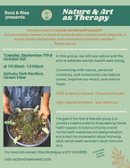 Root and Rise Therapeutic Horticulture Workshop