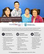 American Job Center providing employment training