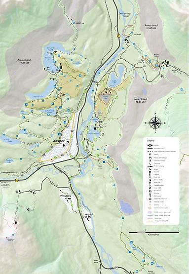 Jasper Trail Map
