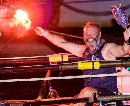 Lee Spencer, the Rowing Marine, joins Row Britannia