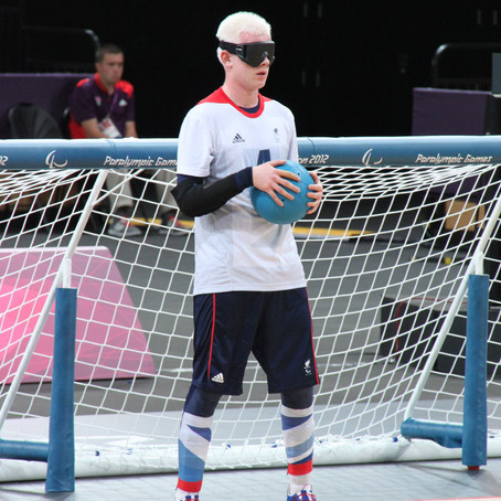 Paralympian and Great Britain Goalball athlete, Adam Knott, joins the BRIT Ambassador family