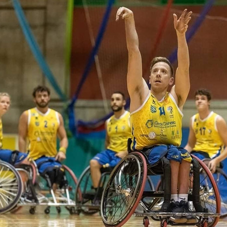 GB Men's Wheelchair Basketball World Champion and GB Team player James MacSorley, joins the BRIT