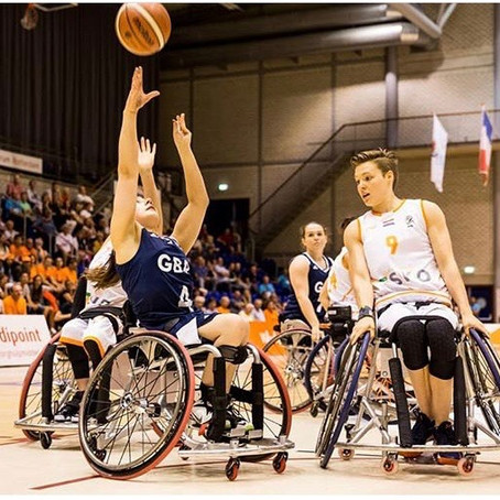 Paralympian & World Champion, Charlotte Moore, joins the BRIT Ambassador family