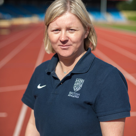 Jane Fylan, British Athletics Athlete Health & Wellbeing Chair, supports Row Britannia