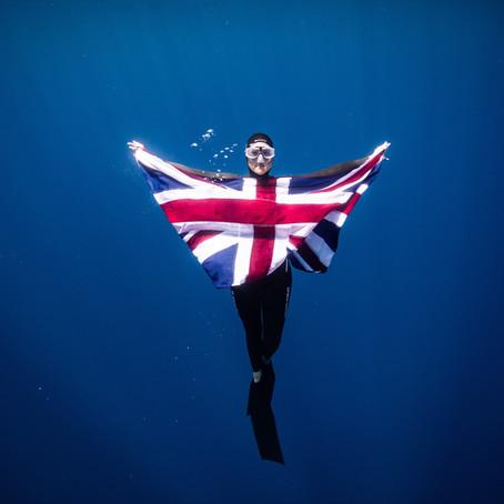 Great Britain Freediver, Helena Bourdillon, joins the BRIT Ambassador family