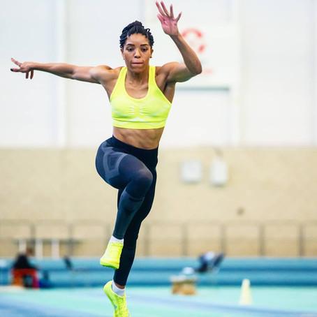 Great Britain Long Jump athlete, Abigail Irozuru, joins the BRIT Ambassador family