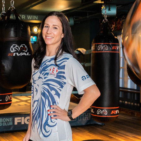 Former National Boxing Champion and England Coach, Rachel Bower, joins the BRIT Ambassador family