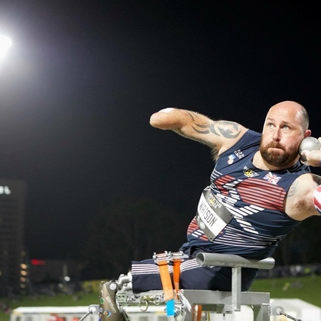 Double Invictus Games Gold medallist, Dave Watson, joins the BRIT Ambassador family