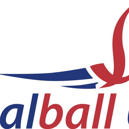 Secretary General/Chief Executive of Goalball UK, Mark Winder, supports BRIT & BRIT 2021 Challenge
