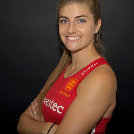 European Championship & Commonwealth Games medallist, Sarah Evans, joins the BRIT Ambassador family