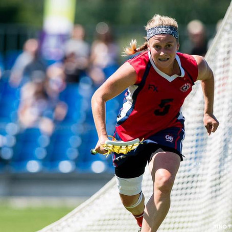 Wales and Great Britain Lacrosse Player, Charlotte Williams, joins the BRIT Ambassador family