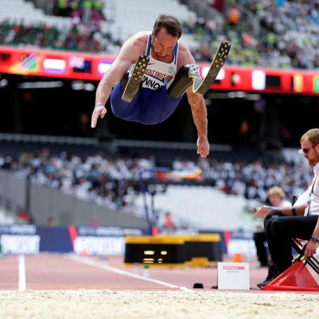 Invictus Gold medallist and Great Britain Blade Runner and Long Jumper, Luke Sinnott, joins BRIT