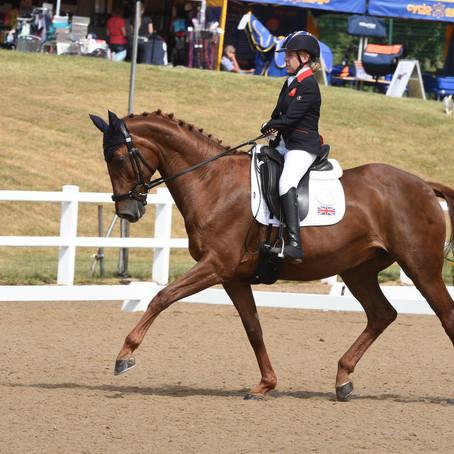 Great Britain Para Dressage rider, Erin Orford, joins the BRIT Ambassador family