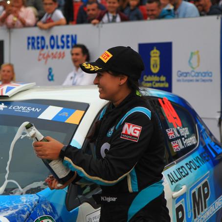 British Rally Championship (BRC) Ladies Champion, Nabila Tejpar, joins the BRIT Ambassador family