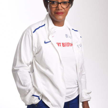Olympian and British & England Athletics Senior Administrator, Lorna Boothe MBE OLY, joins BRIT