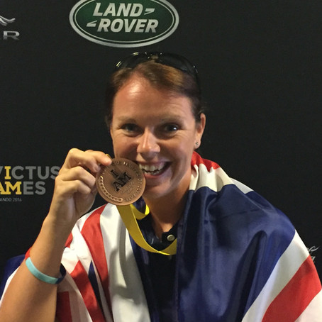 Invictus Athlete and Charity Ambassador, Sally Orange, joins Row Britannia