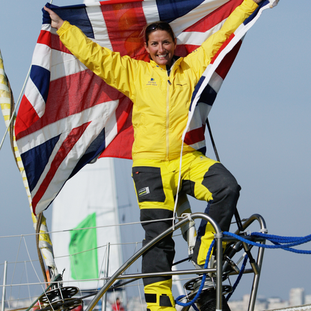 Inspirational and Record-Breaking Yachtswoman, Dee Caffari MBE, joins Row Britannia