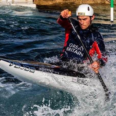 GB Canoe Slalom U23 World Champion & multiple World & European medallist, Adam Burgess, joins BRIT