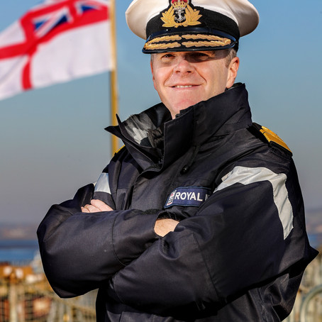 The Royal Navy partners with Row Britannia