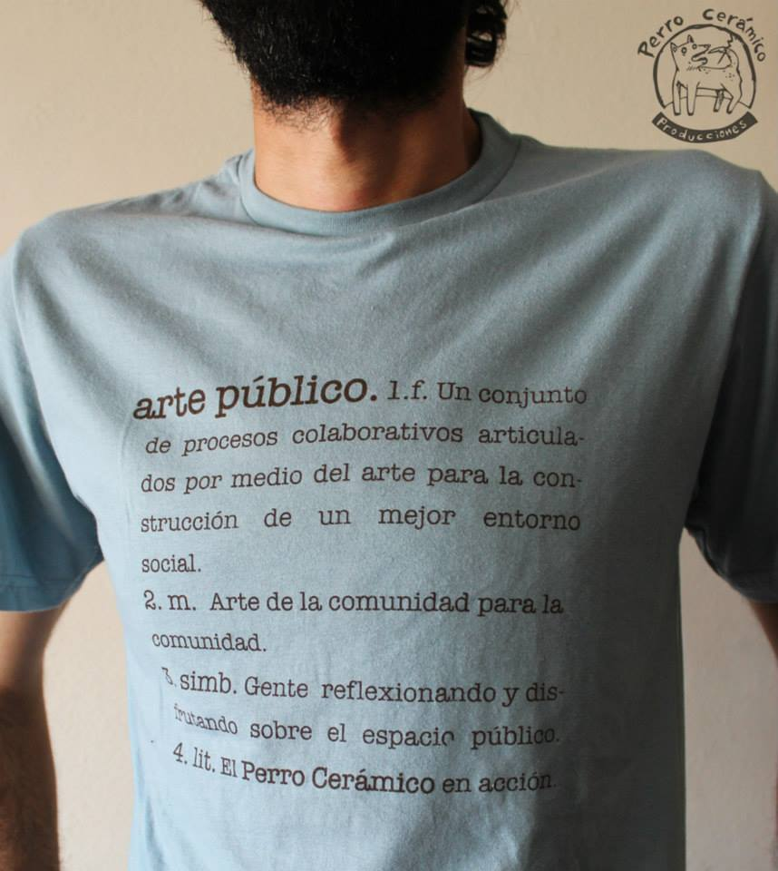 Camiseta Arte Público
