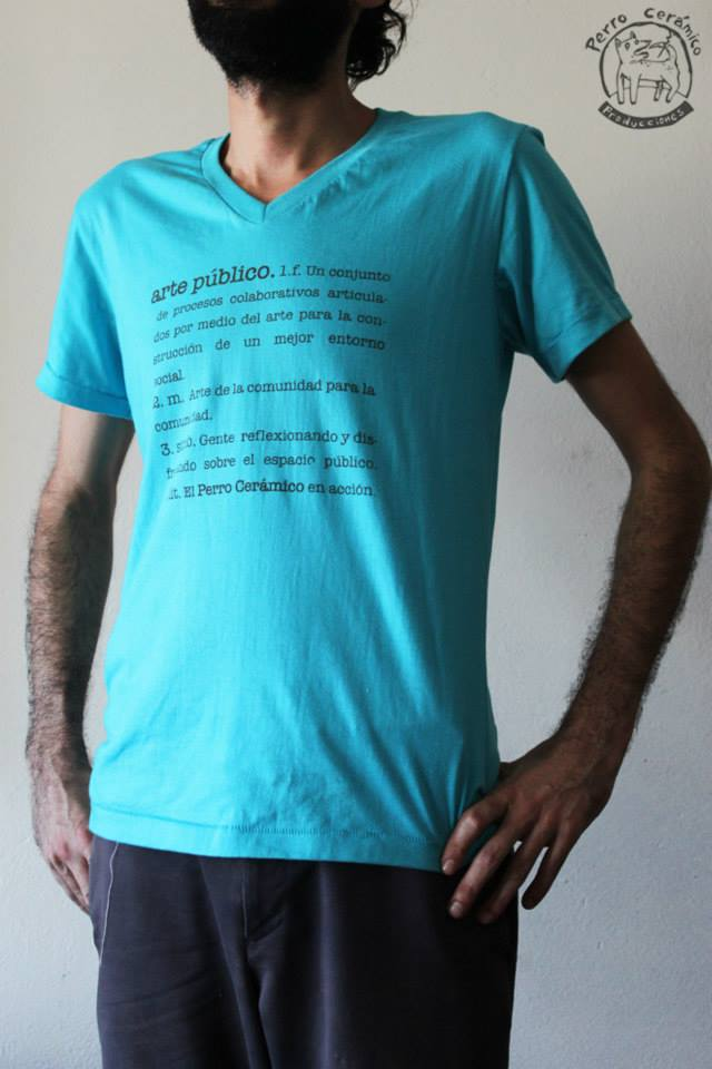 Camisetas Perro Cerámico