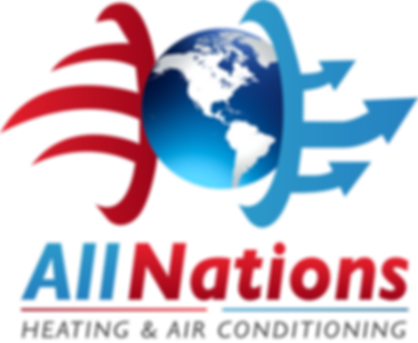 All Nations AC Heating and Air Conditioner Logo