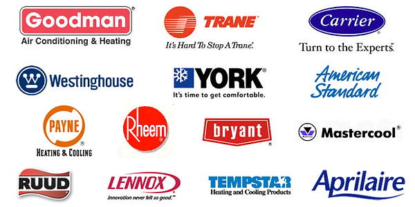 Air conditioning and heating manufacturers.