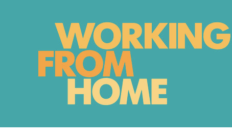 Work from home - wk beginning 4th Jan