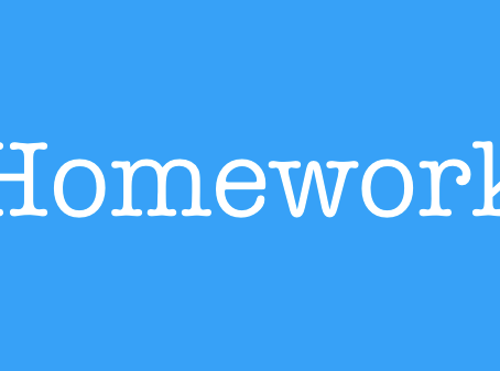 Homework - Due in Friday 8th January