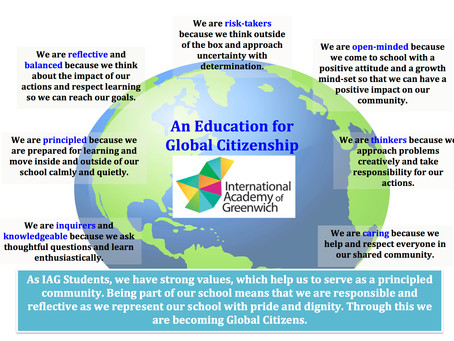 IAG Learner Charter – An Education for Global Citizenship