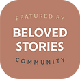 Click to visit Katy Kithcart Creative's feature on Beloved Stories's website.
