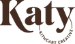 Katy Kithcart Creative logo in brown.