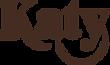 Katy Kithcart Creative logo in brown.