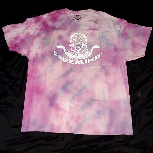 Free Minds Tie Dye T-Shirt (XL-3X)