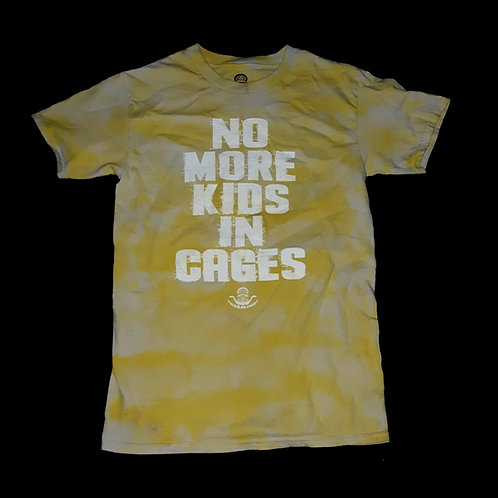 No More Kids in Cages - Tie Dye Free Minds T-Shirt (SM-L)