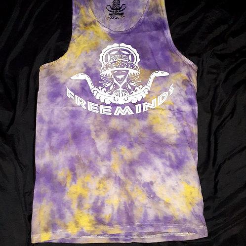 Free Minds Tie Dye Tank Top