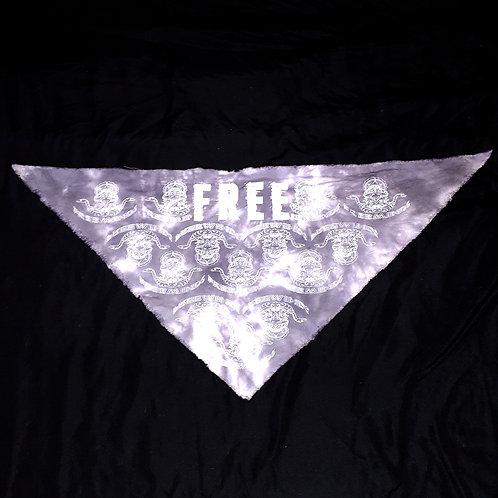 Free Minds Tie Dye Bandana Face Cover