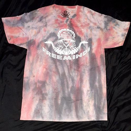 Free Minds Tie Dye T-Shirt (SM-LG)