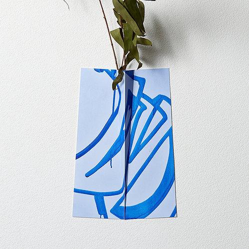"""Flower Vase """" ONE """" 027"""